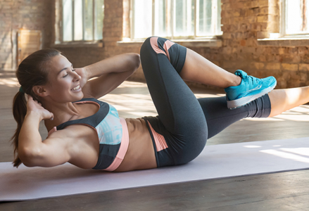 Stretches & Crunches