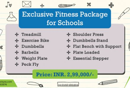 Exclusive School GYM Package - OnTrackYou
